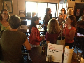 Twenty-two science communicators walk into a bar...