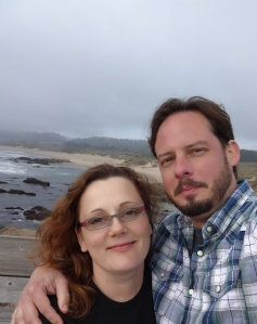 Capital Science Communicator Sarah Swenty with husband Aaron enjoying the California coast. (Photo courtesy of Sarah Swenty)