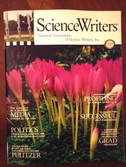 The summer 2013 issue of Science Writers announces the formation of Capital Science Communicators.