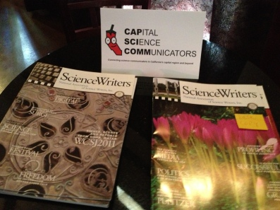 The upcoming Science Writers 2013 annual conference was a topic of conversation at the August CapSciComm meetup.