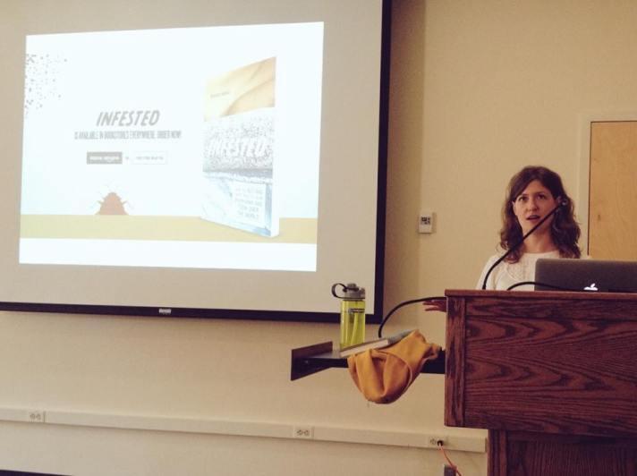 Brooke Borel introduces her book
