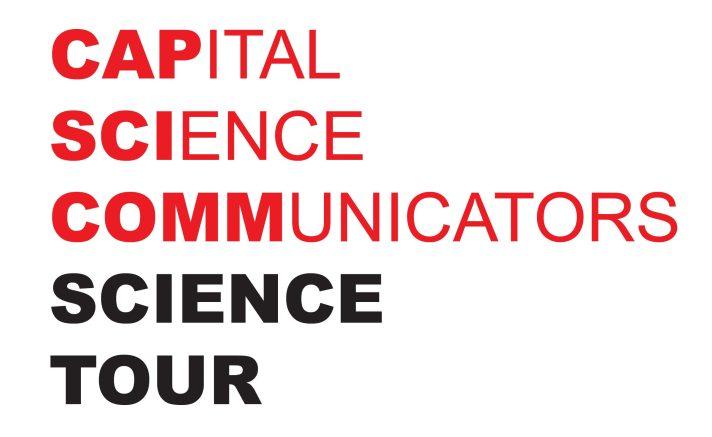 CapSciComm Science Tour