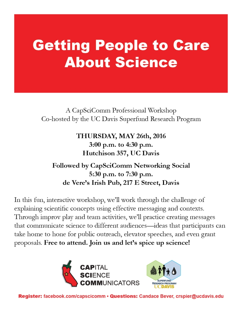 CapSciComm Event 201605 Poster