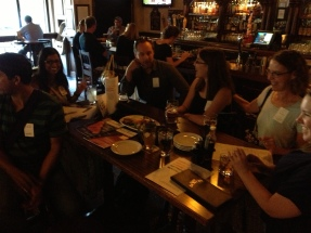 The September 2013 Networking Social hosted Indian tiger biologist Firoz Ahmed.