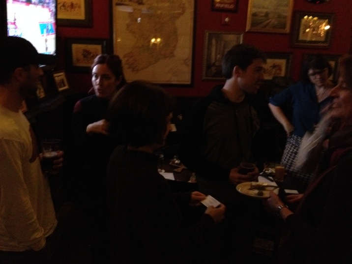 January 2015 was the first jointly hosted social between CapSciComm and the CCST Science Fellows.