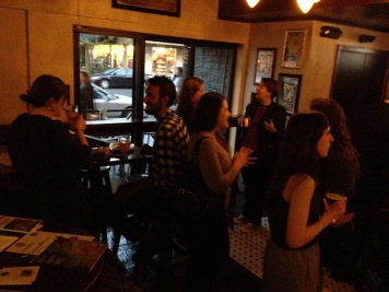 The February 2015 Networking Social in Davis welcomed journalists new to the area.