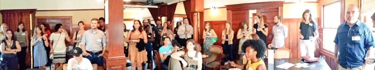 The June 2015 Networking Social saw a mix of professions in policy, nonprofit, and research.