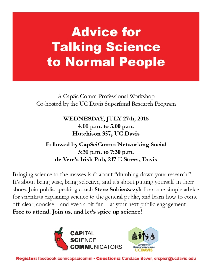 CapSciComm Event 201607